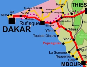 Mbour Map
