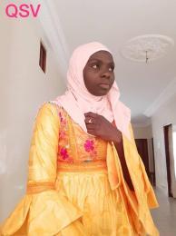 Volunteer Fatou Diop