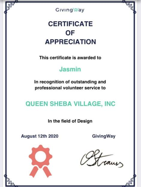 Volunteer Certifications