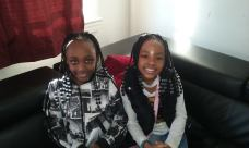 QSV kids Zoey, cousin Isis