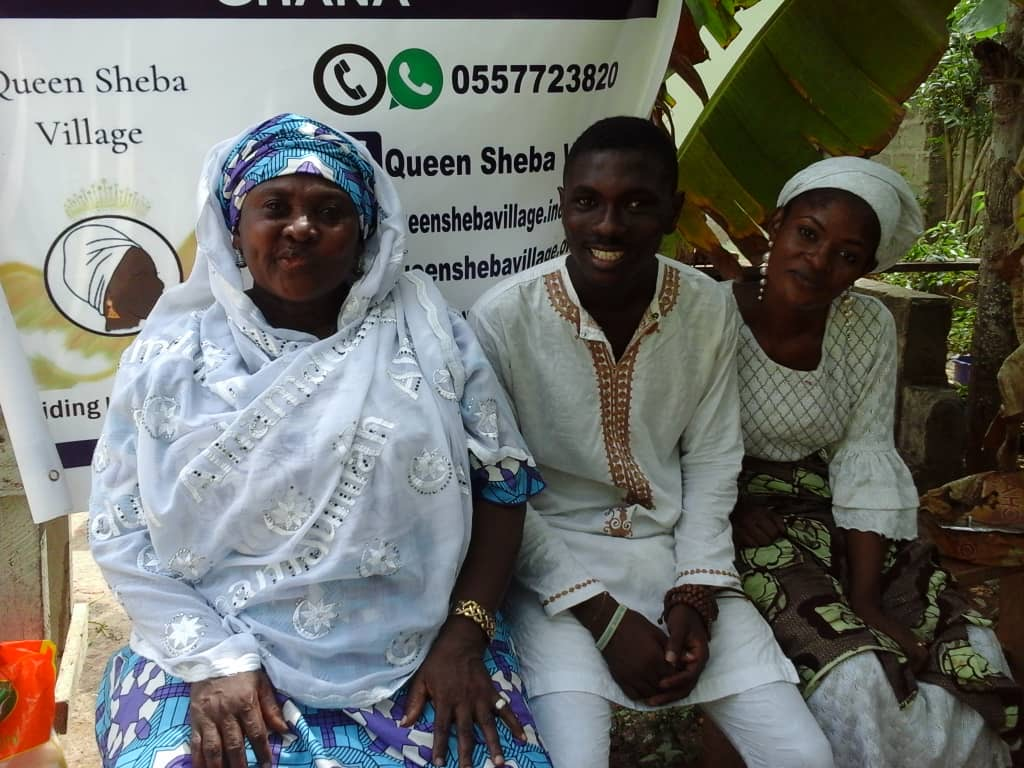 QSV Ghana Feed The People Program